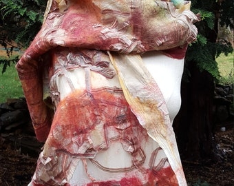 Handmade Nuno Felt Wrap