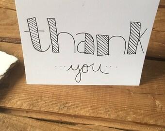 Thank You Cards - Design 4