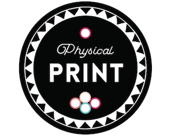 Physical Print of Instant Download, Print Digital Download, Print of Printable Art