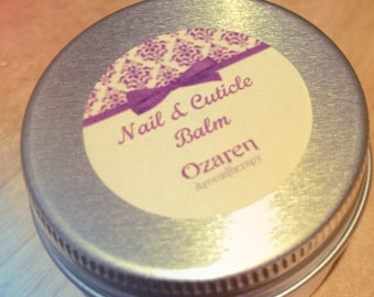 Lemon nail & cuticle balm