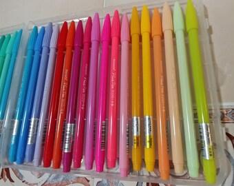 Monami Plus Pen 36pcs Set / color pen set / Calligraphy