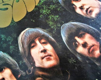 The BEATLES Rubber Soul Hardcover LP Record Album Apple Capitol America's Greatest Rock n Roll Band Invasion Coffee Table Collectible