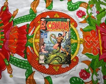 Conan The Barbarian #117 Vintage Marvel Comic Book. 1980 Barbarian Fantasy Bronze Age Comic. 80s Conan Barbarian Comic