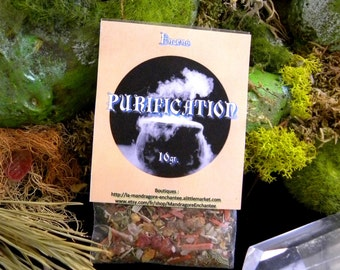 Incense PURIFICATION / places release ~ 10gr
