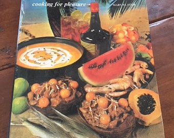 Vintage 1970's Cookbook Caribbean cooking for pleasure by Mary Slater