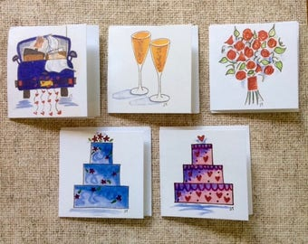 Square Gift Tags - Bliss