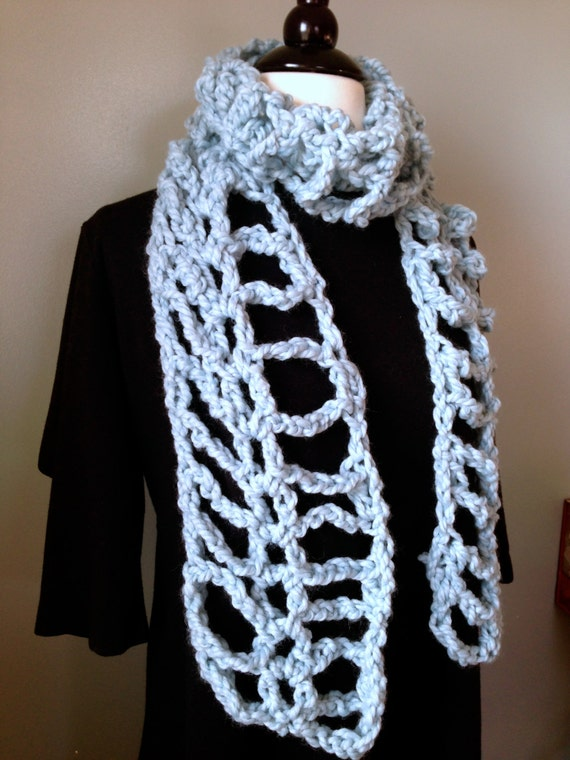 Crochet Pattern Chunky cowl or scarf - Super fun, easy project ...
