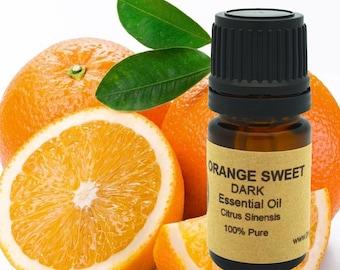 Orange Essential Oil (Sweet Dark) 5 ml, 10 ml or 15 ml