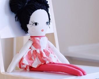 "Handmade doll. A 16"" rag doll."