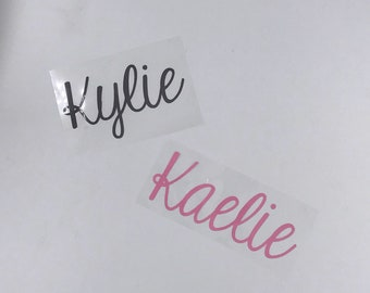 DIY IRON-ON Name Transfer, Do It Yourself Personalization, Name Decal, Heat Transfer Vinyl, Do It Yourself, Customized Transfer