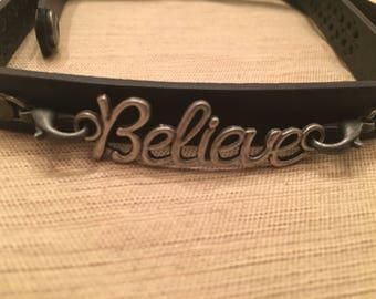 Inspirational wrap around bracelet
