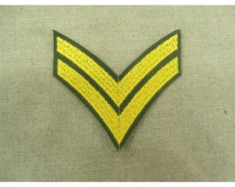military patch FUSIBLE - grade pattern