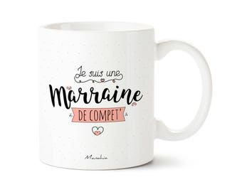 Godmother mug. I'm a comp godmother ', godmother, godmother gift mug