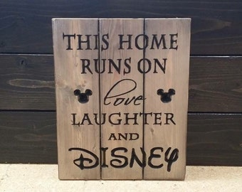 Carved This Home Runs on Love Laughter and Disney