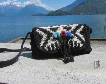 """Crochet Bag Pattern """"Tepee Purse"""" by NTmaglia, downloadable .pdf"""