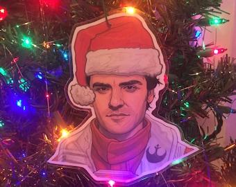 Poe Dameron STAR WARS Christmas Ornament