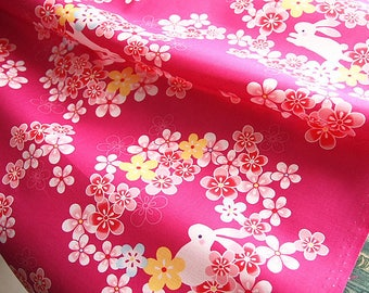 Japanese 4 assorted patterns = 4 coupons floral traditional pink white purple