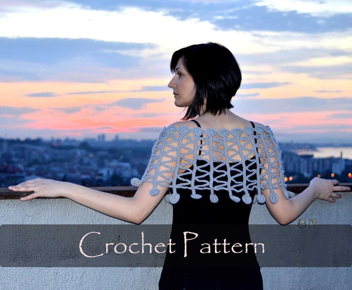 CROCHET PATTERN - Twist and Shout Crochet Poncho Pattern Unusual ...