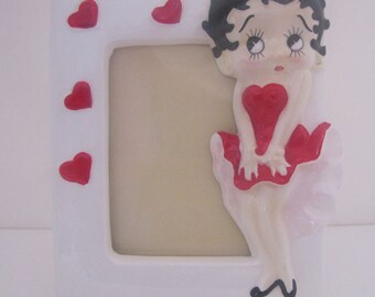 Vintage Betty Boop Picture Frame