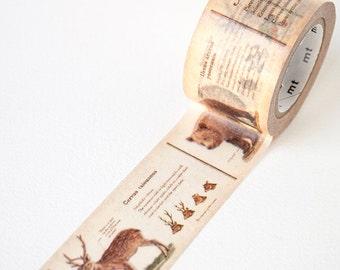 Animal Washi Tape • MT Masking Tape • MT ex Wide Washi Tape • Washi Tape UK • Japanese stationery • Animal