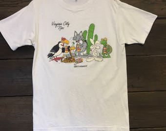 1986 Party Animals Tee Shirt