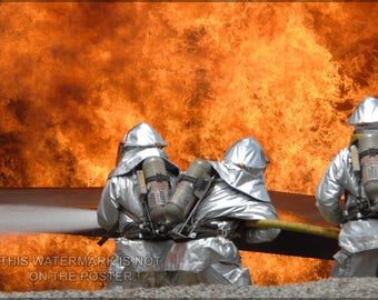 Poster, Many Sizes Available; Firefighters