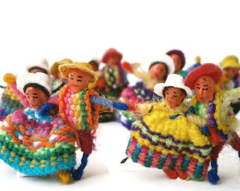 Mini Dolls Party Favors, Couples Wedding Gift, Bohemian Decoration, Lot of 48 pieces