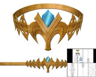 Template for Princess Zelda Crown