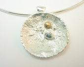 Barnacles Sterling Silver 18Kt Gold