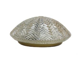 "Flushmount Crystal glass ""Limburg"" lamp Plafoniere"