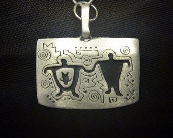 Vintage URBAN FETISH PENDANT Necklace