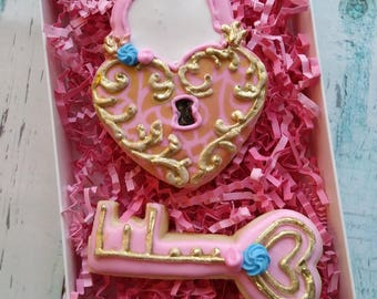 Key To My Heart Cookie Gift Box