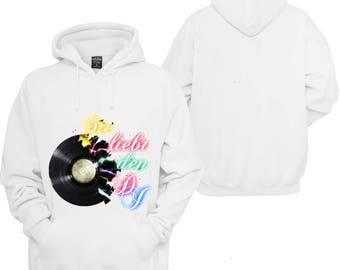 100% hot stuff love the DJ Schlager Hoodie pullover Hoodie gift sayings Sweatshirt