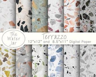 Terrazzo tile | Etsy