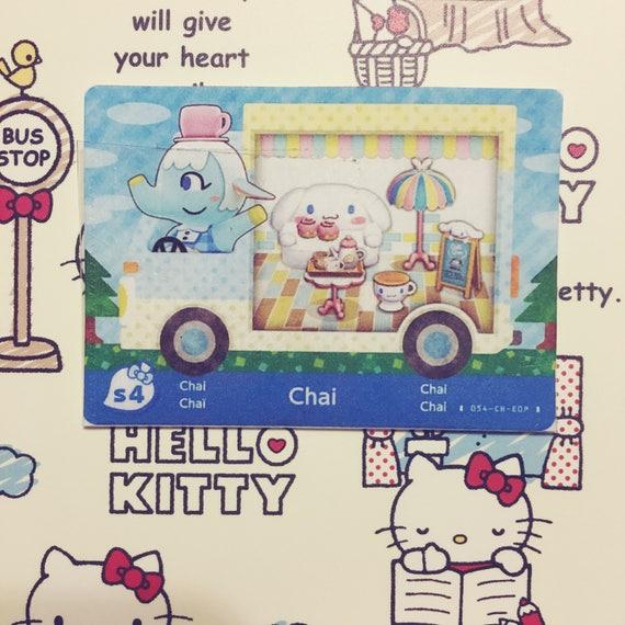 Animal Crossing: Nueva hoja x Sanrio Amiibo tarjetas FANMADE