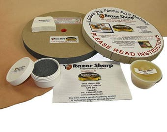 Razor Sharp Edge System 8""