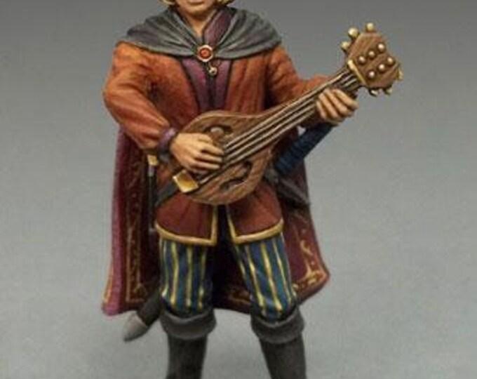 Easley Masterworks: Male Bard w/Lute - 4116 - Dark Sword Miniatures