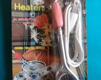Vintage Instant Immersion Heater 110V 300W 60Hz Original Packaging