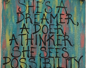 She sees possibility Everywhere Sign