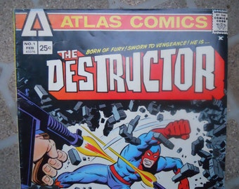 1975 The Destructor #1 Atlas Comics