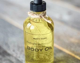 Bath & Body Oil: Eucalyptus, 4oz