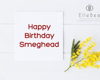 Funny Birthday Card / Cheeky Birthday Card / Humorous Birthday Card / Cheeky Birthday Card / Elle Bee
