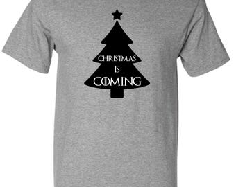 Game of Thrones Style Christmas is Coming T Shirt