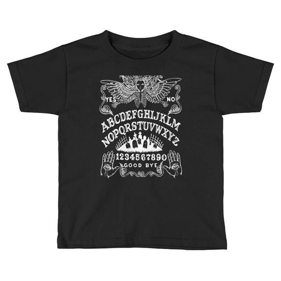 Ouija Board Kids Short Sleeve T-Shirt