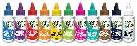 Artisan Accents 2oz. Food Coloring Color Gel Food Coloring