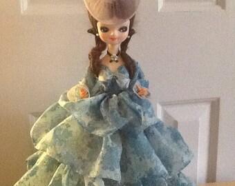 "Vintage Dakin Dream Doll ""Big Eyes Doll"" Southern Belle"