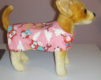 Owl Harness-Vest for small dog