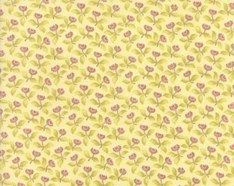 Hazel and Plum - Cream 20291 17 - Moda Fabrics 100% Cotton Quilting Fabric by  Fig Tree