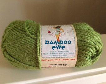 Bamboo Ewe by Stitch Nation, Debbie Stoller, , 1 Skein, Viscose Wool Blend, 177 Yds, #5625 Sprout