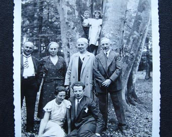 Spirits of the Forest... 1920's Vintage Photo... Original Vintage Snapshot Photograph